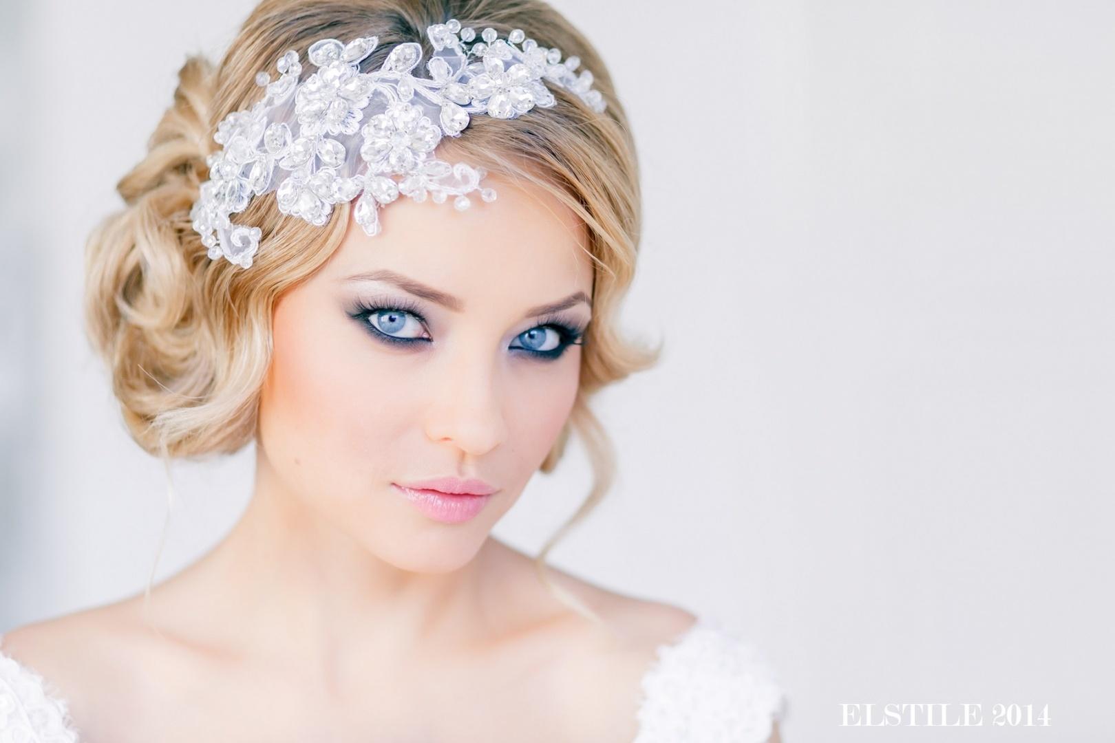 Свадебные аксессуары и украшения, свадебные прически и макияж. - 1 september 2015 - blog - roma-crocuc.