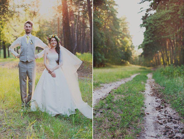 Солнечная летняя свадьба Олега и Дианы