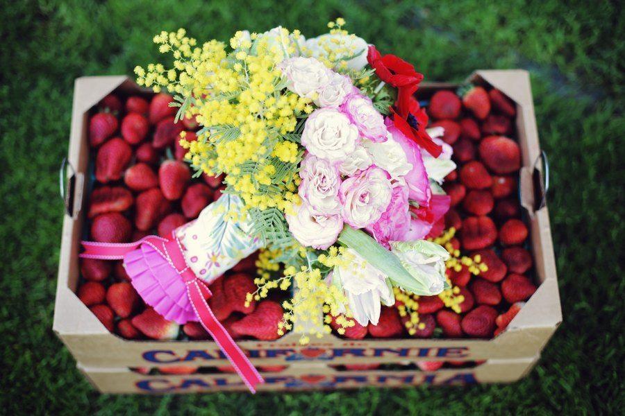 Подарки на клубничную свадьбу 54