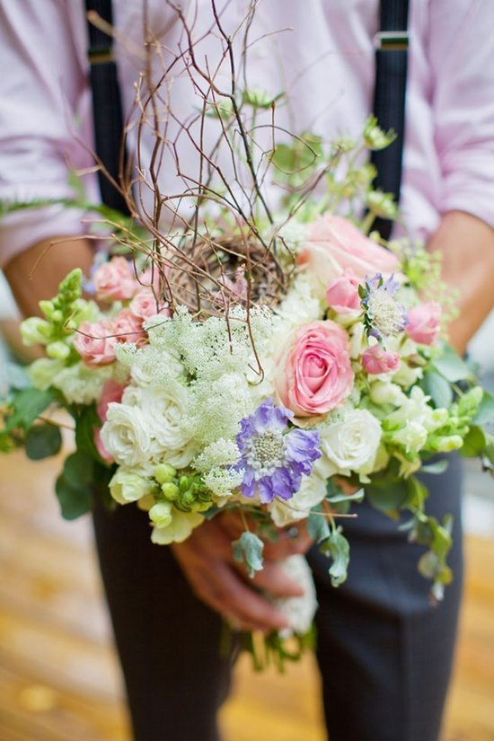 [3] Букет невесты с гнездышком