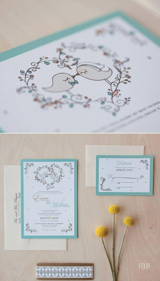 [4] Свадебная канцелярия - птички 2
