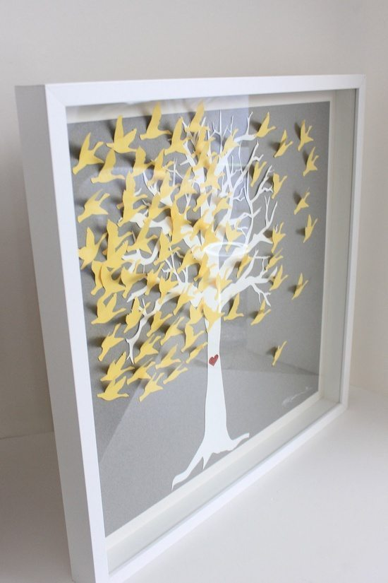 [5] Книга пожеланий - дерево из птиц