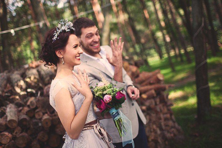 Лесное вдохновение: Свадьба Ани и Никиты