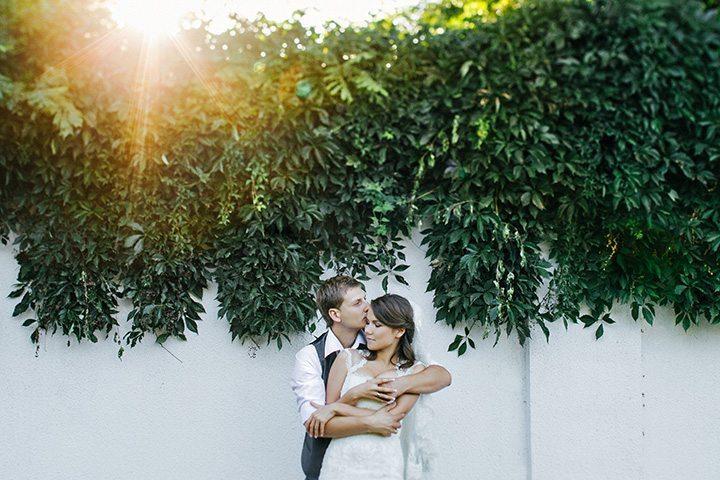 Свадьба в жёлто-серых тонах: Олег и Анна