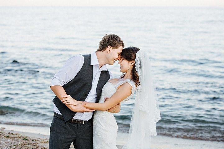 Съёмка о любви у моря: Аня + Олег