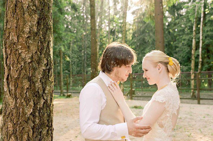 Древесные мотивы: свадьба Алёны и Даниила