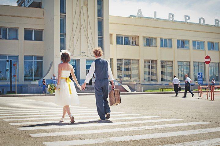 Парижское вдохновение: свадьба Артёма и Юлии