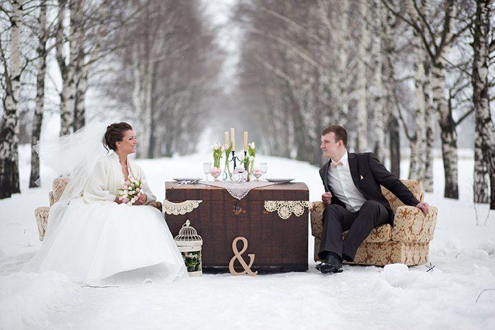 В ожидании весны: Свадьба Димы и Валентины