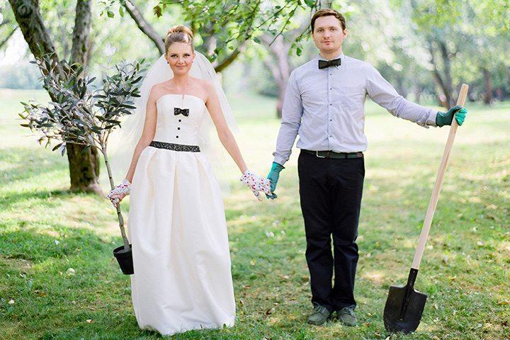 Дорога к счастью: свадьба Даши и Сергея