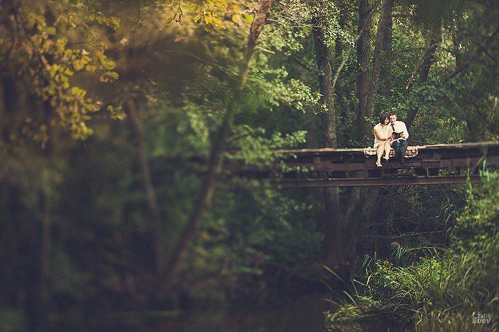 Винтажная история о любви: Ксения и Алексей