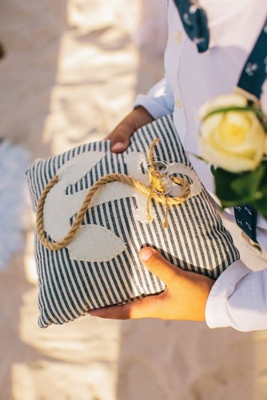 Морская стилистика свадьбы