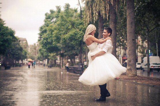 Куда поехать на свадьбу в дождь в москве