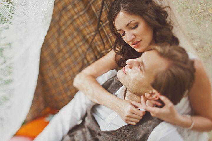 Лёгкость кружева: свадьба Александра и Кристины