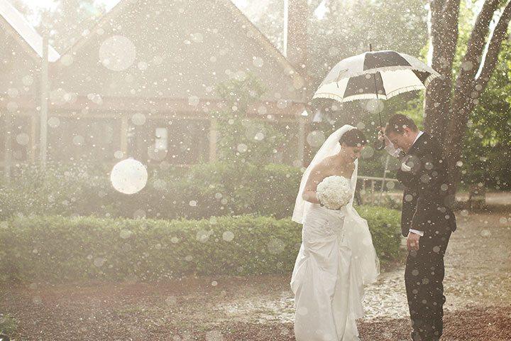 Свадьба в дождь: что делать?