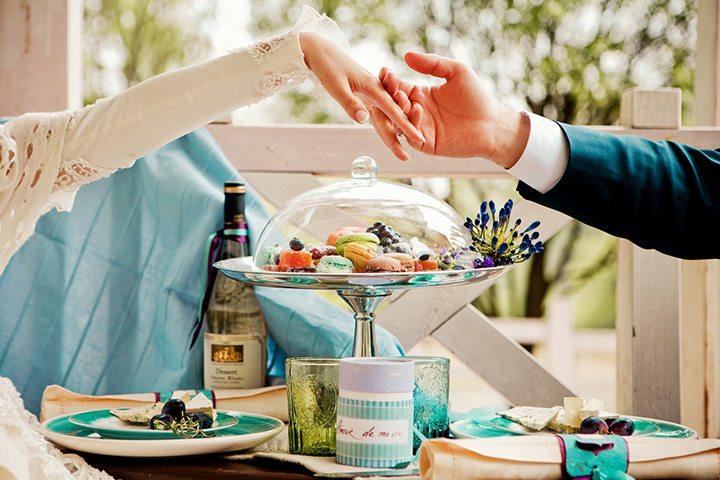 Французское вдохновение: свадьба Дмитрия и Надежды