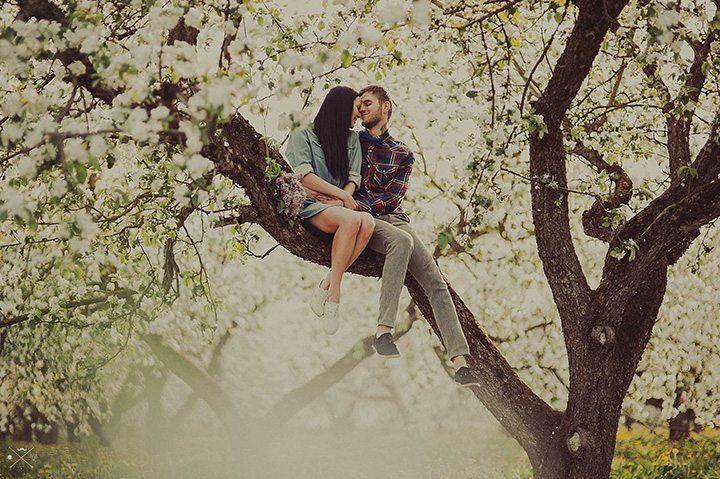 Цветущий сад: love-story Даши и Димы
