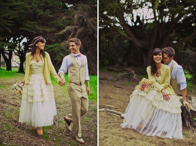 В тренде: кардиган для невесты