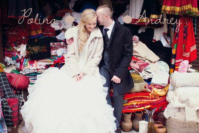 Сказочная шкатулка: свадебная прогулка Полины и Андрея