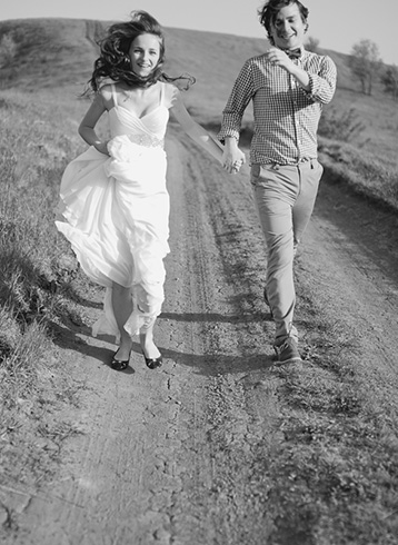 Свежесть лета: свадьба Маши и Юры