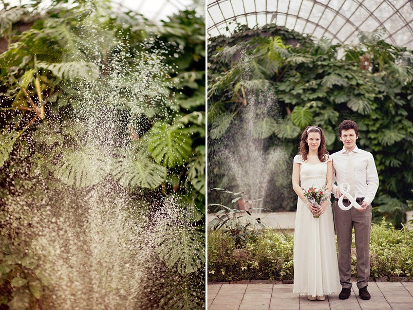 Летняя зима: Свадьба Ксении и Виктора