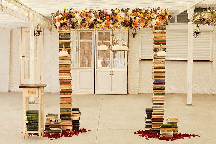Любовь к книгам: свадьба Кирилла и Насти