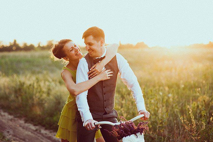 Светиться от счастья: свадьба Виктории и Дмитрия