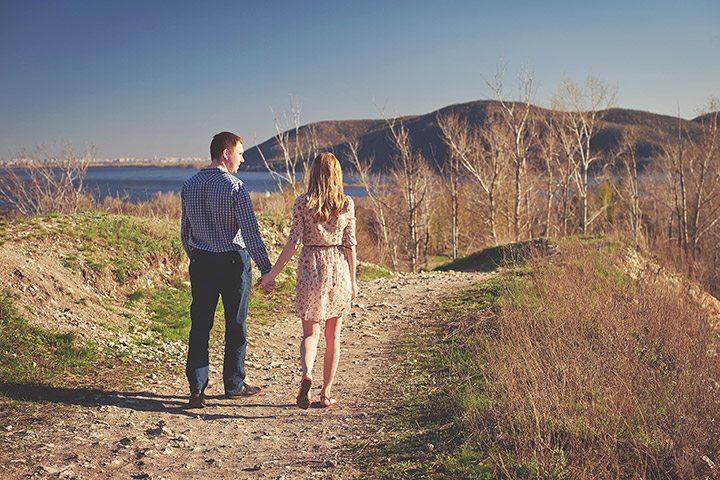 Красота природы: love-story Ирины и Василия