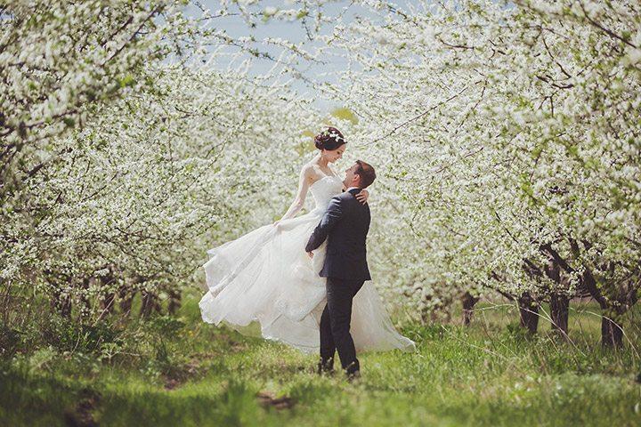 Весеннее очарование: свадьба Ольги и Алексея