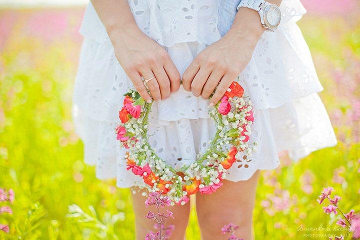 Поле цветов: девичник Анны