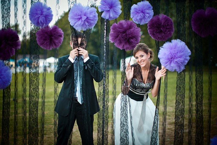 Сиреневое счастье: свадьба Ольги и Максима