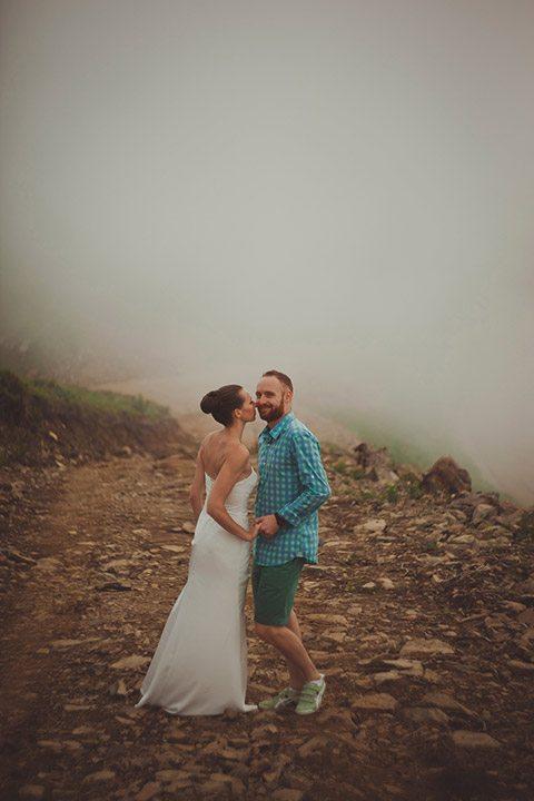 Красная поляна, душа моя: свадьба Ивана и Натальи