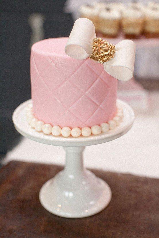 малинькие свадебные торты фото