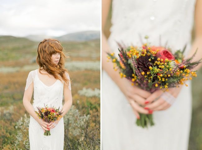 Образ невесты: очарование осени