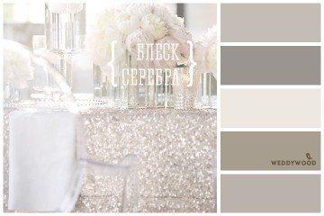 Вдохновение цветом: блеск серебра