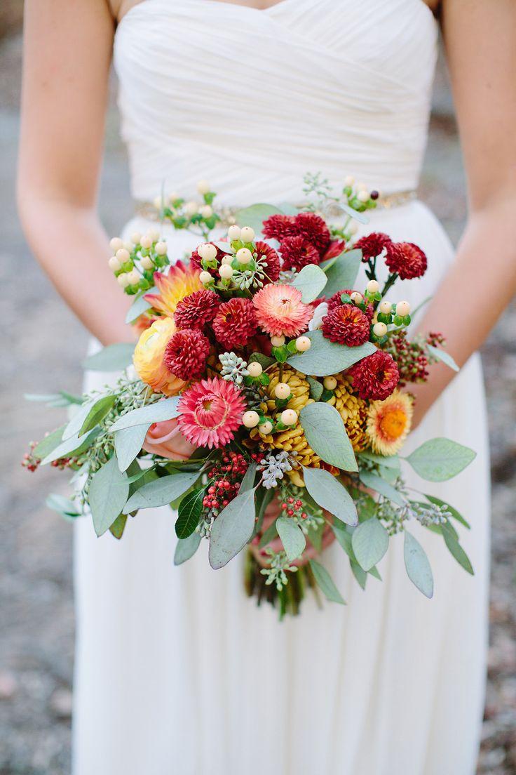 Сочетание цветов в букете невесты, цветов