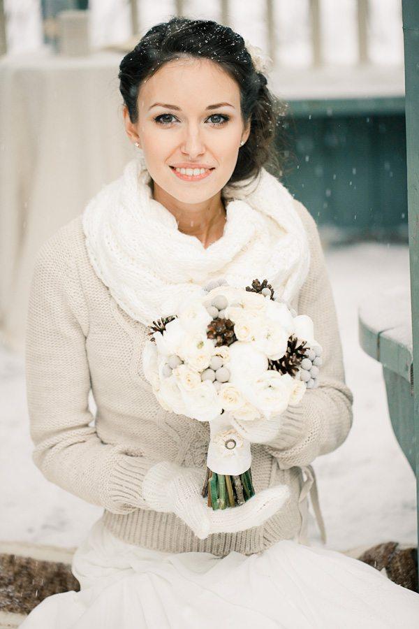 Зимнее чудо: свадьба Наташи и Стаса