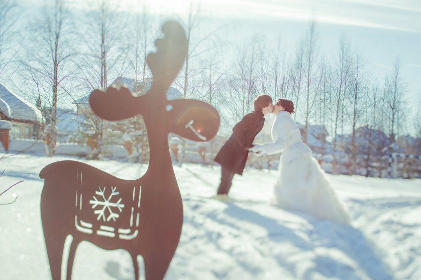 Мороз и солнце: свадьба Саши и Наташи