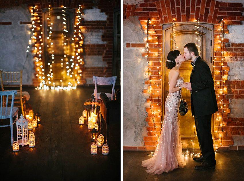 Искры бенгальских огней: свадьба Натальи и Антона