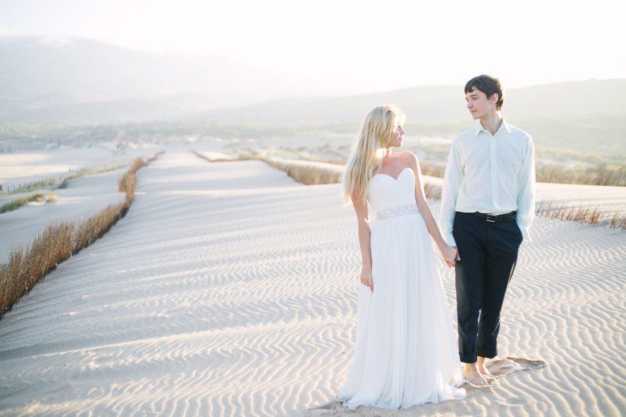 Наедине со стихией: свадьба Александры и Василия