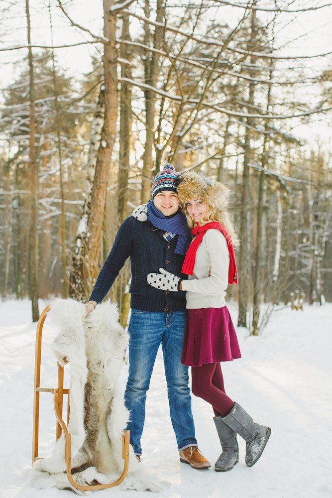 Тепло и уют: love-story Оли и Дани
