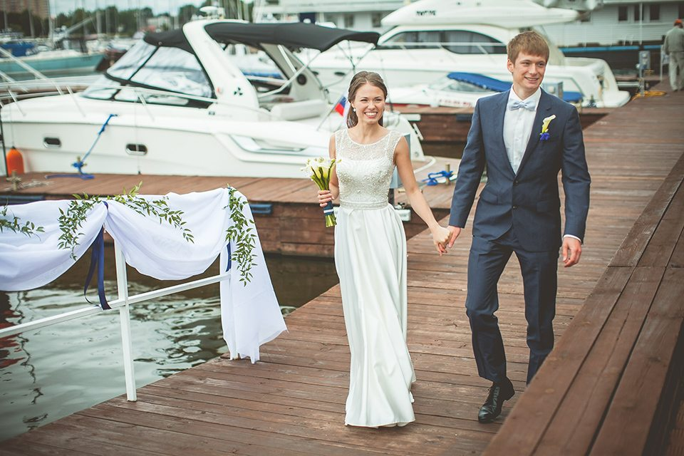 Море, море: свадьба Марии и Льва