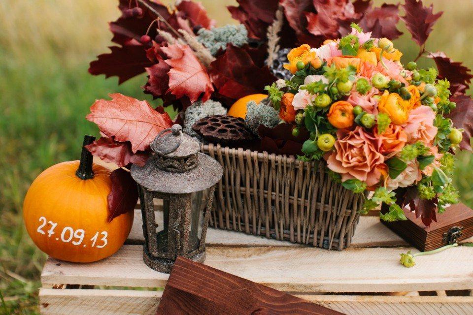 Осенний уют: свадьба Егора и Евгении