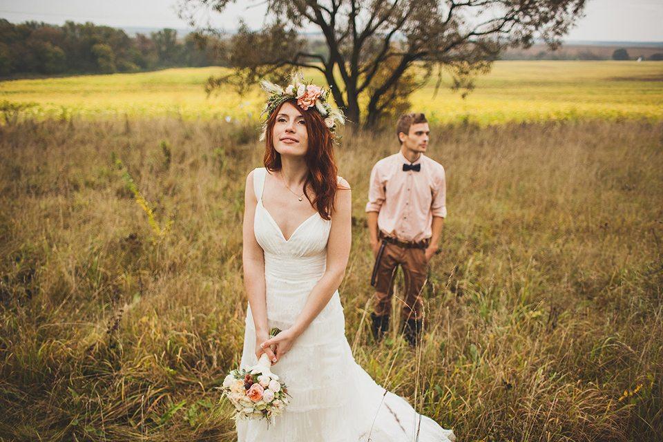 Шелест осени: свадьба Димы и Маши
