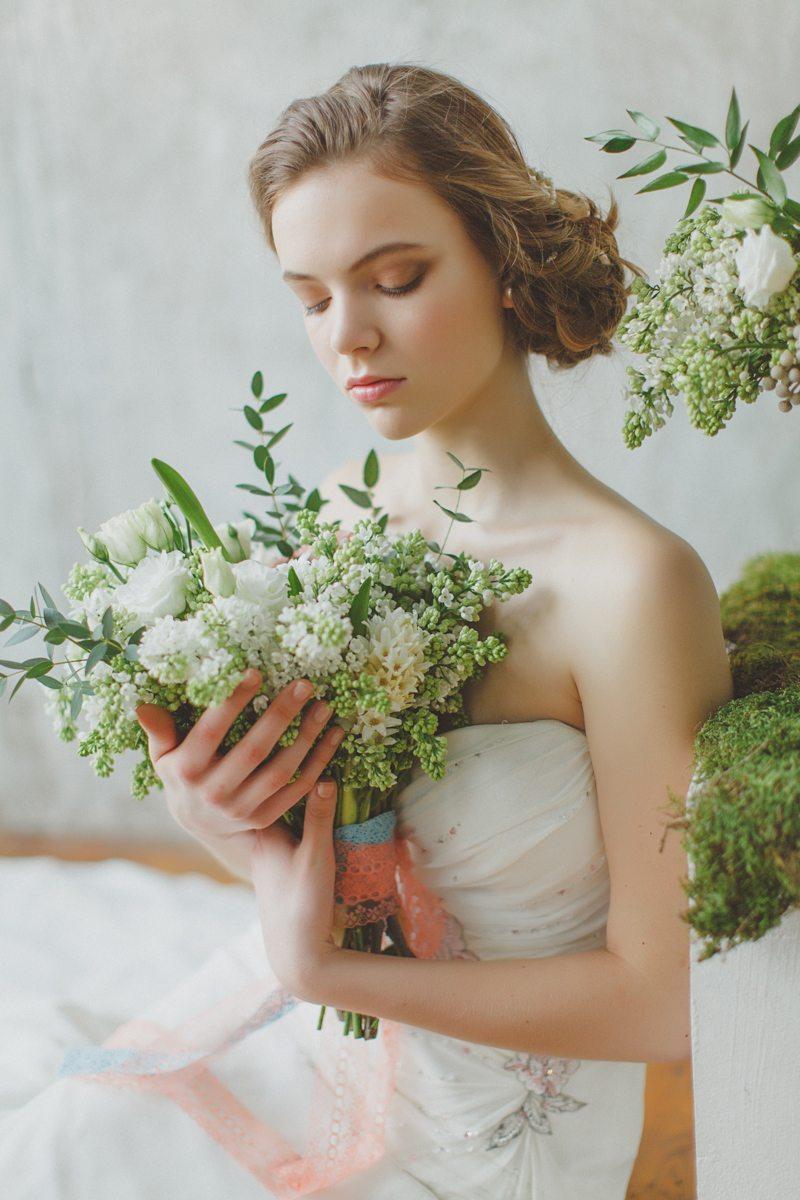 Легкость кружева: весенняя невеста