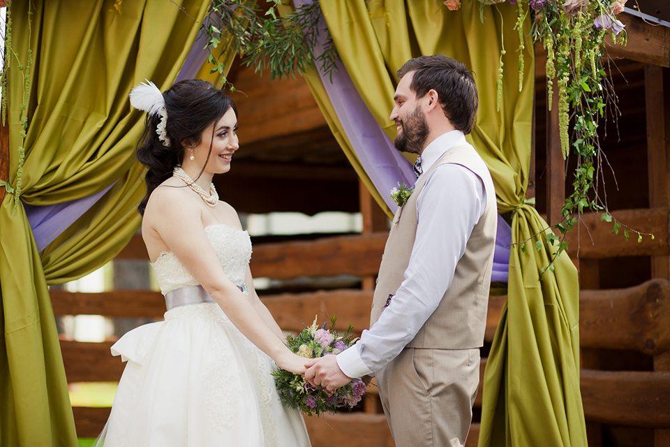 Лесное очарование: свадьба Артема и Екатерины