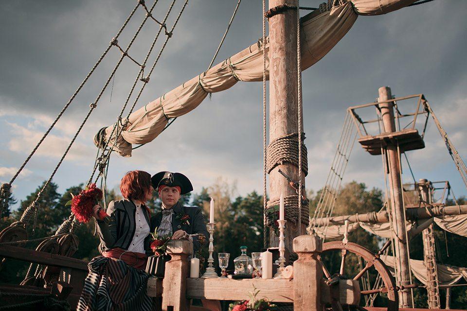 пиратская фотосессия москва всю снесло, другом