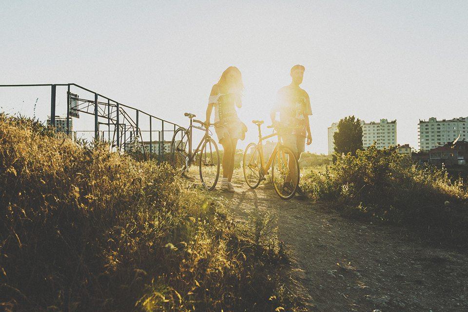 Солнце и велосипеды: love-story Вани и Иры