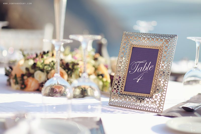 Белоснежный Санторини: свадьба Сергея и Кристины