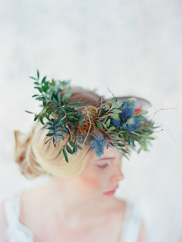 Нежное цветочное вдохновение: стилизованная съемка
