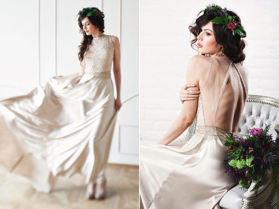 Видео съёмка под юбками невест